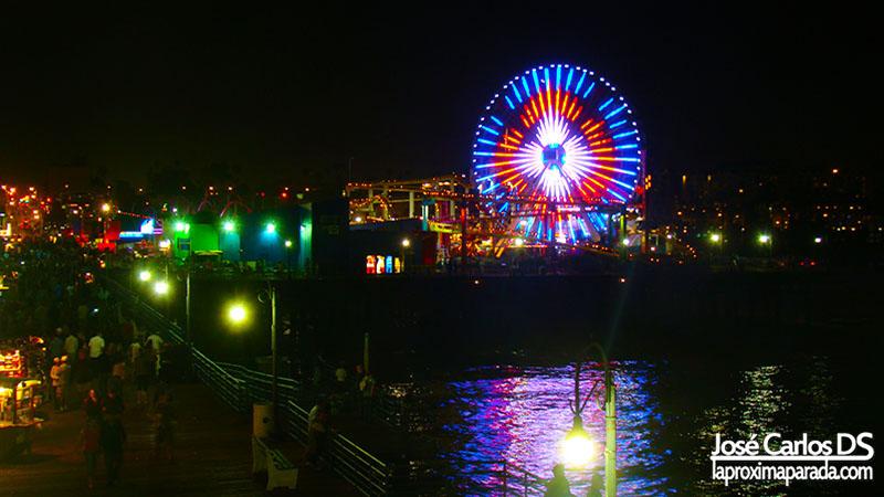 Noria Muelle de Santa Monica Los Angeles