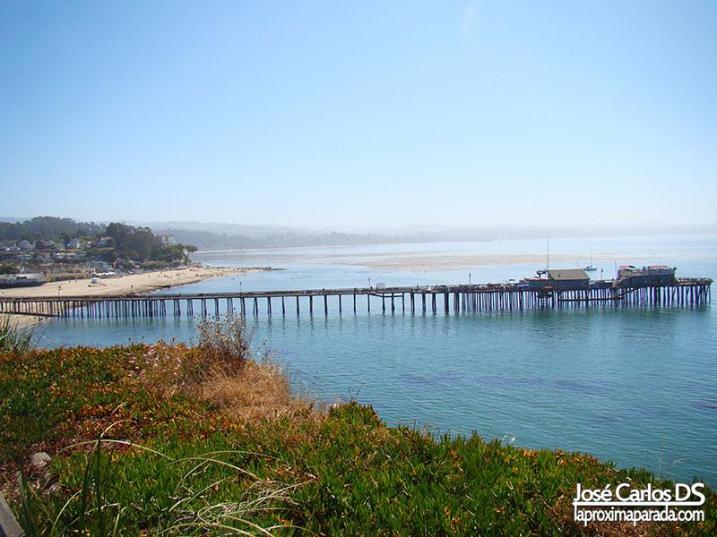 Muelle en Santa Cruz Costa de California