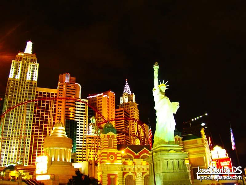 Noche Hotel New York New York Las Vegas