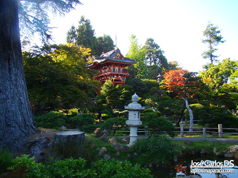 Parque Japones del Golden Gate Park San Francisco