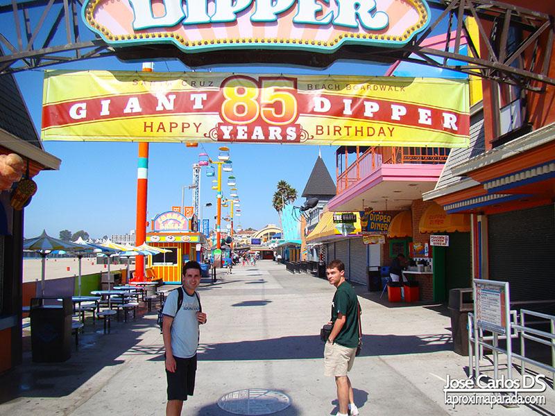 Parque de Atracciones Santa Cruz Costa de California