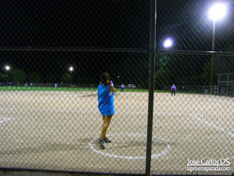 Partido de Béisbol en Bishop