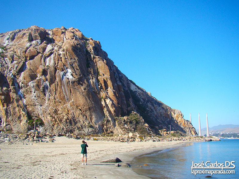 Peñón Morro Bay Costa de California