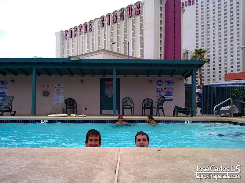 Piscina Hotel Travelodge Las Vegas Strip North
