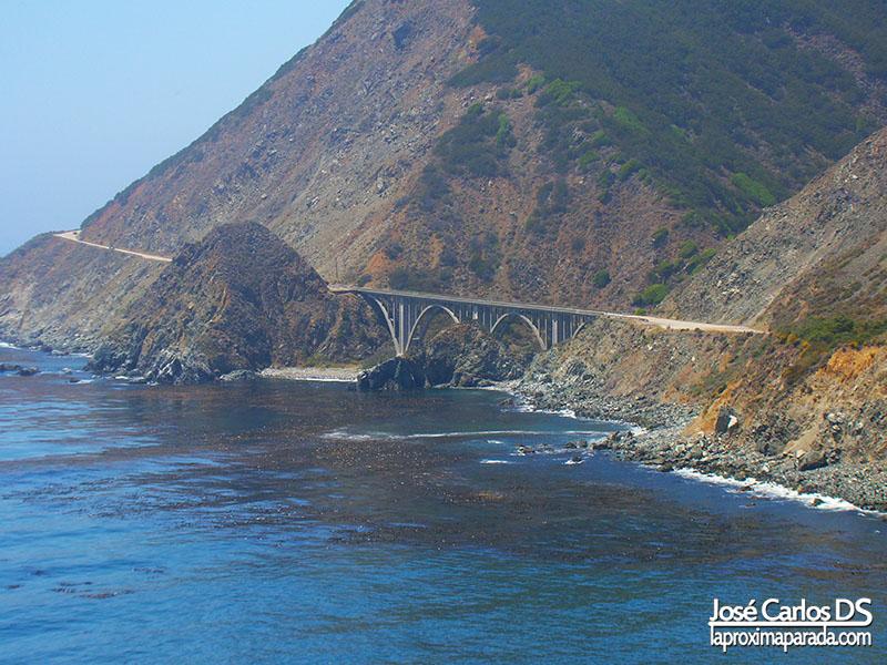 Puente Acantilados Costa de California Pacífico