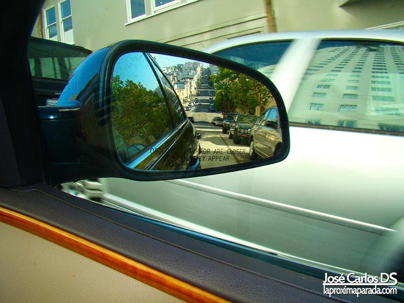Reflejo retrovisor San Francisco