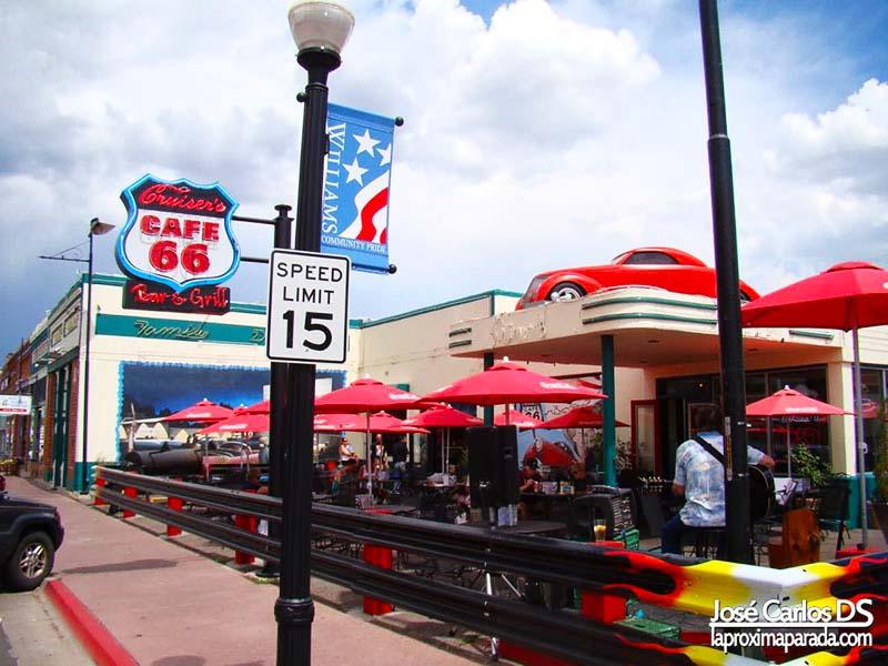 Restaurante en Williams Ruta 66