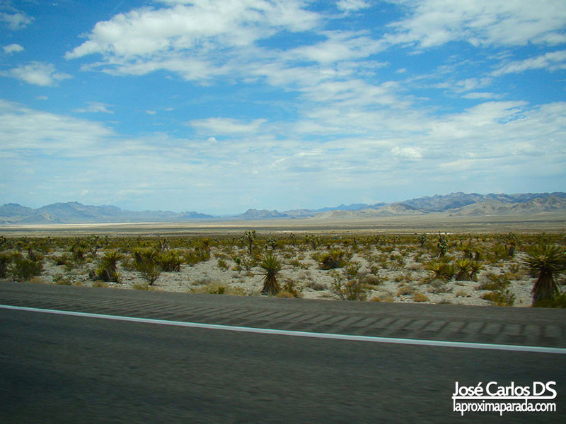 Rumbo a Death Valley