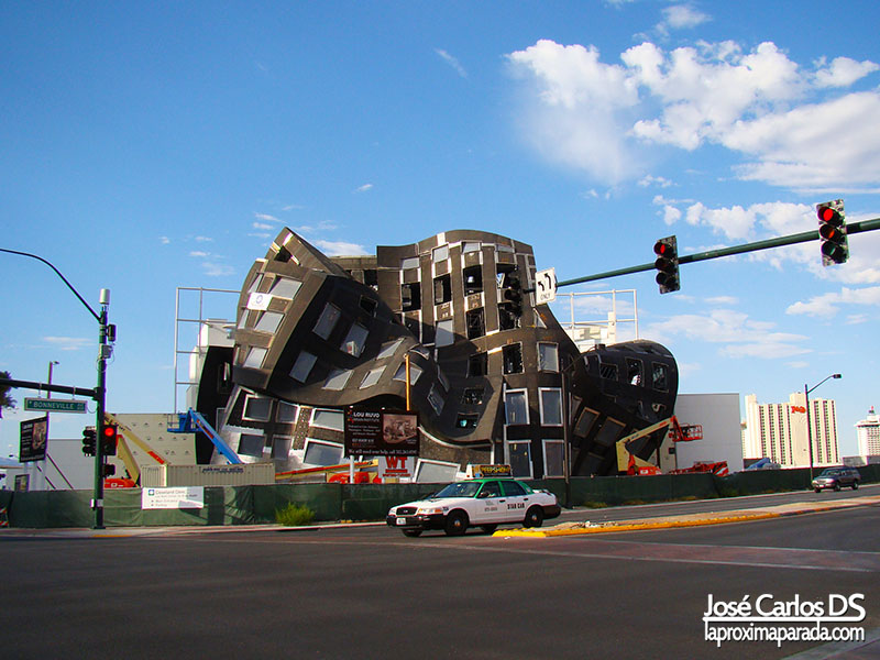 Singular edificio en Las Vegas Nevada