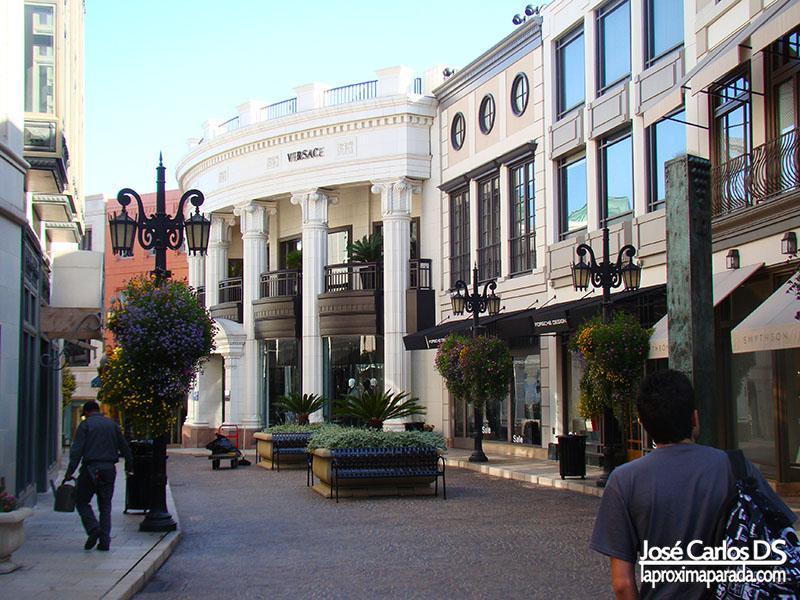 Tienda Versace en Rodeo Dr. Los Angeles