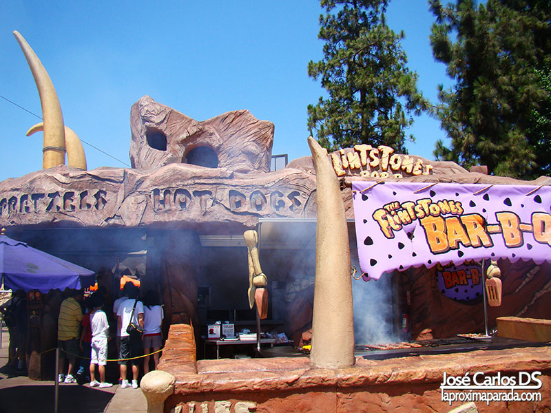 Picapiedra Universal Studios Los Angeles