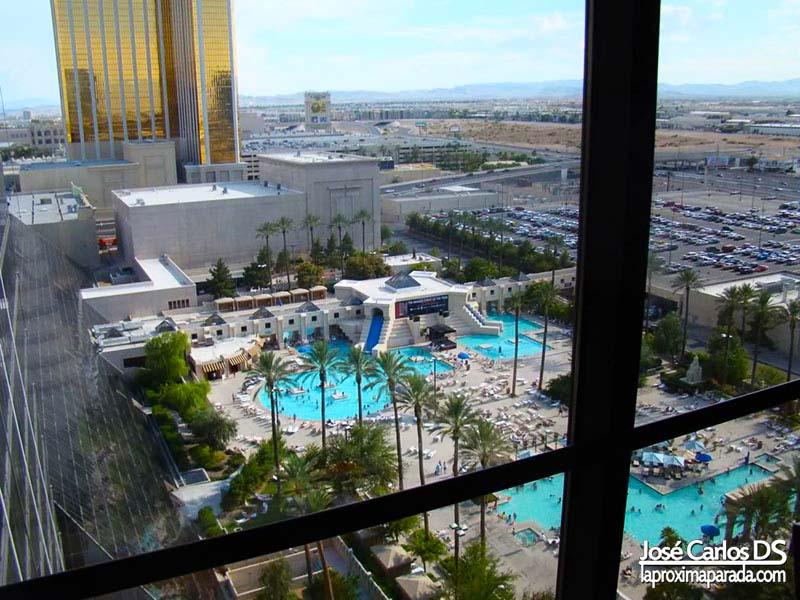 Vistas Piscinas Hotel Luxor Las Vegas