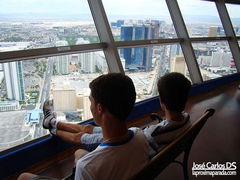 Vistas de Las Vegas desde Hotel Stratosphere
