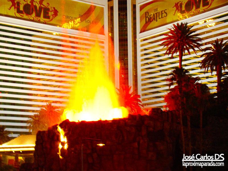 Volcán Hotel The Mirage Strip de Las Vegas Nevada