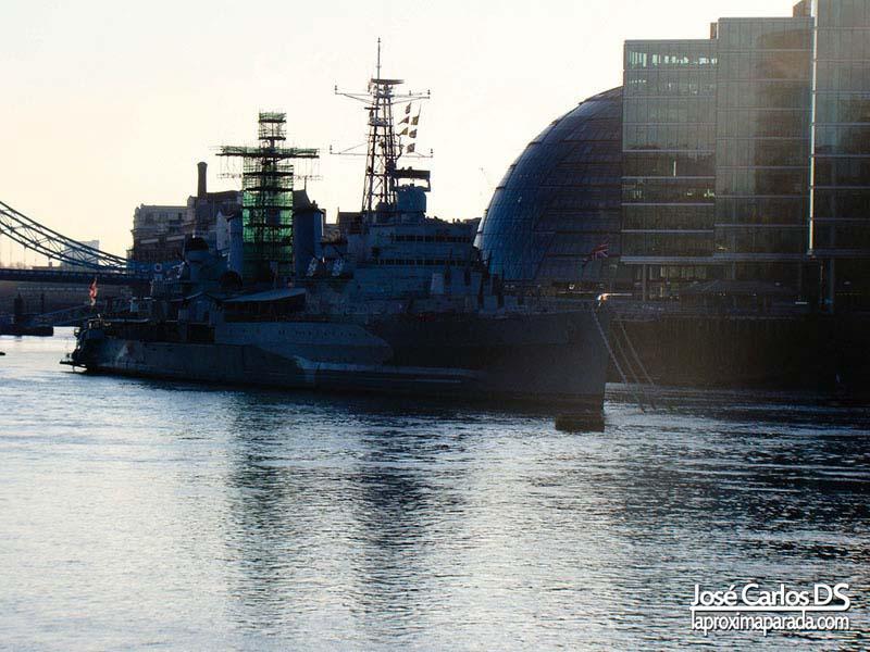 Acorazado de guerra HMS Belfast