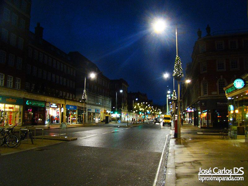Amanecer en Londres Navidad