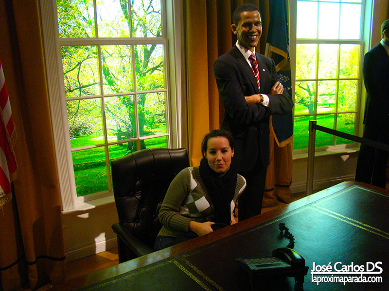 Barack Obama Madame Tussauds Londres