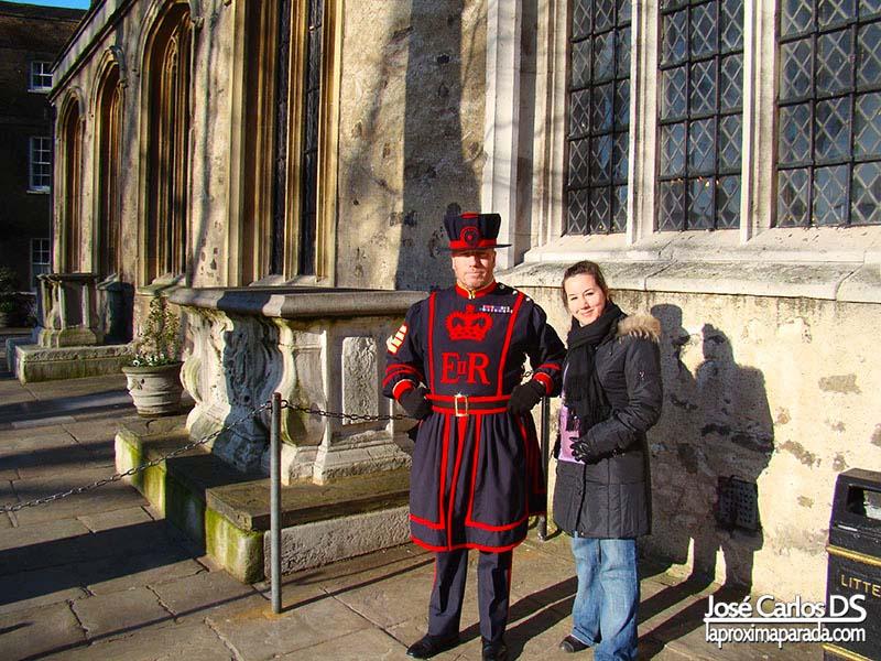 Beefeater Torre de Londres