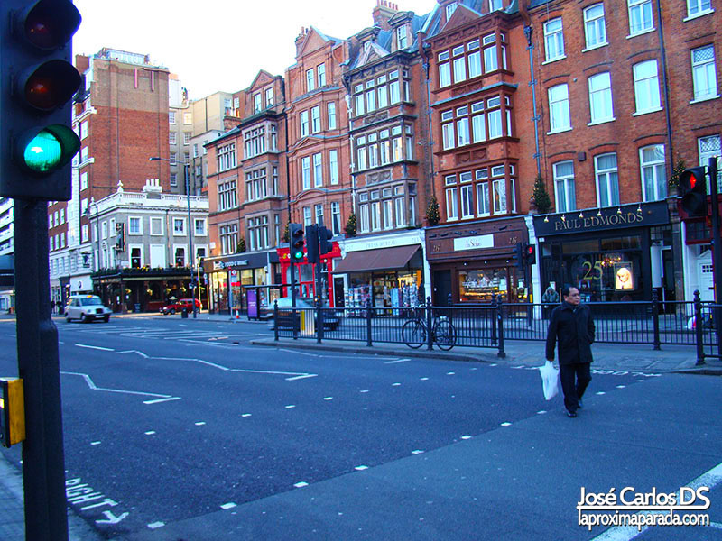 Calles Londres en South Kensington