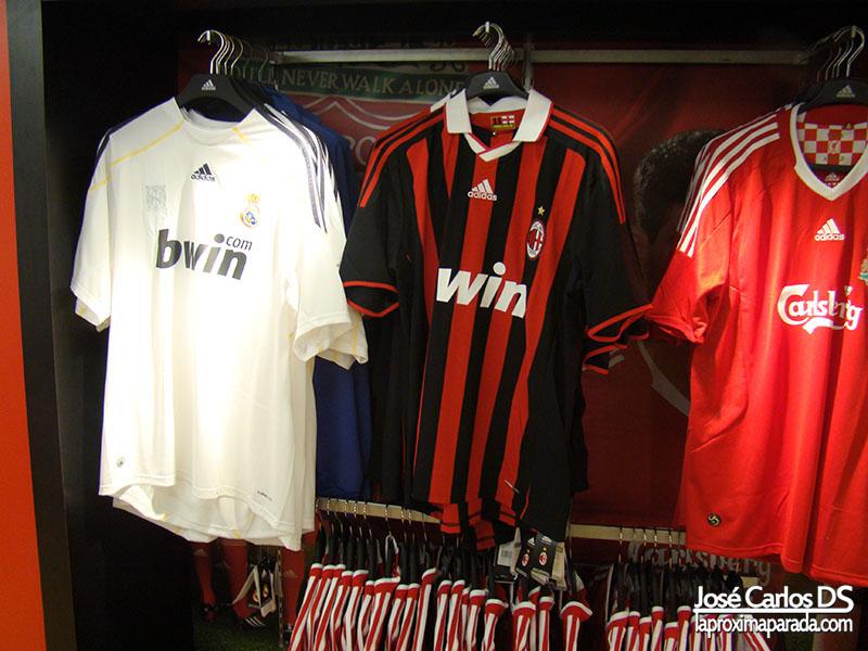 Camiseta Fútbol en Harrods Londres