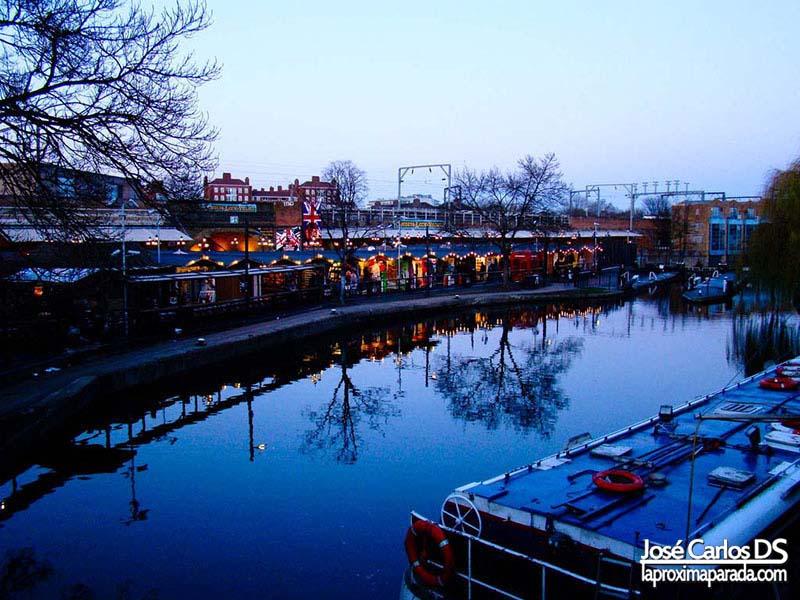 Canales Camden Market Londres