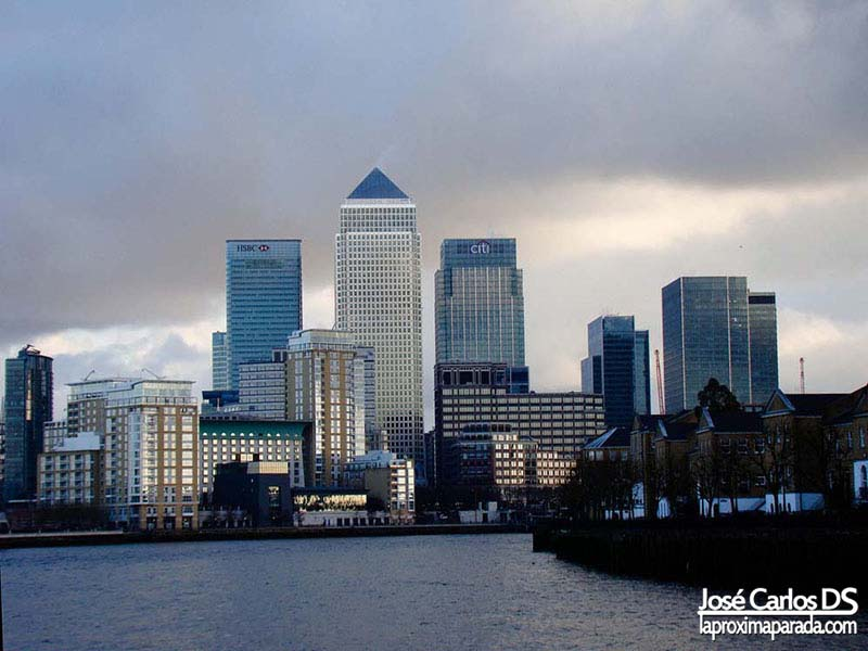 Canary Wharf desde CityCruises Tour Londres