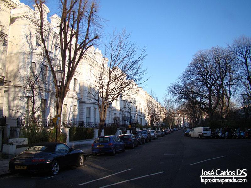 Casas Barrio de Portobello Londres