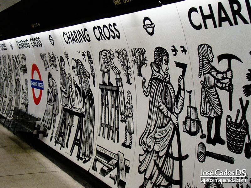 Charing Cross Metro Londres