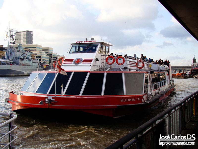 CityCruises Tour Londres