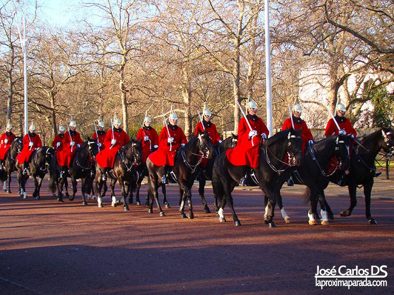 Desfile en The Mall Londres