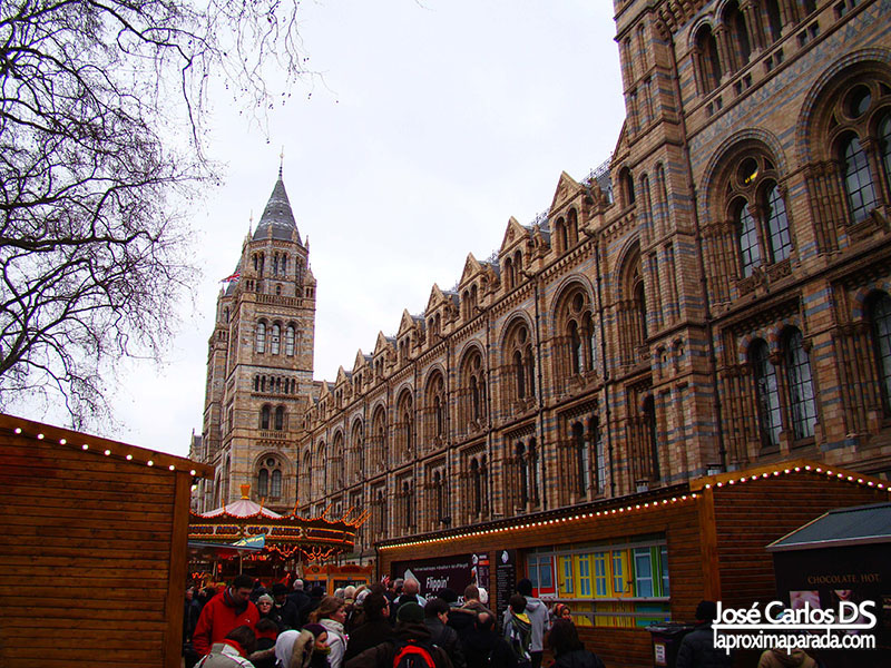 Edificio Museo de Historia Natural Londres