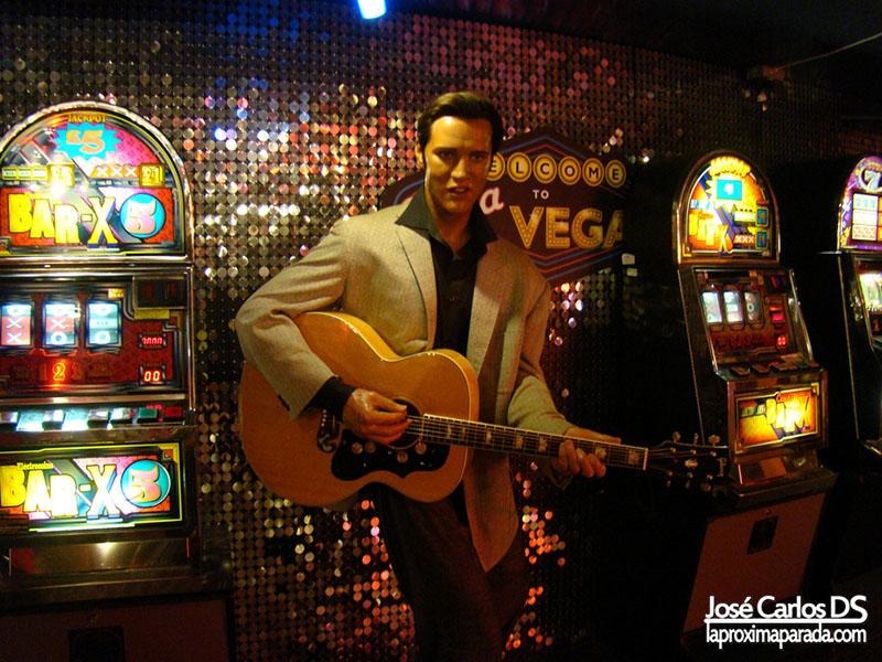 Elvis Presley Madame Tussauds Londres