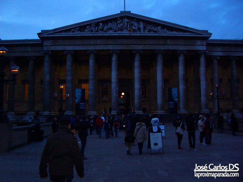Entrada Museo Británico British Museum Londres