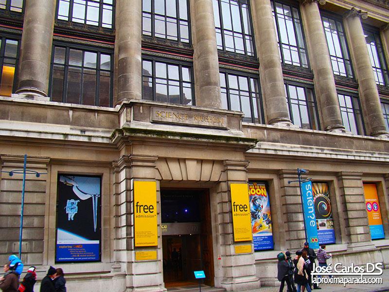 Entrada Museo de la Ciencia Londres
