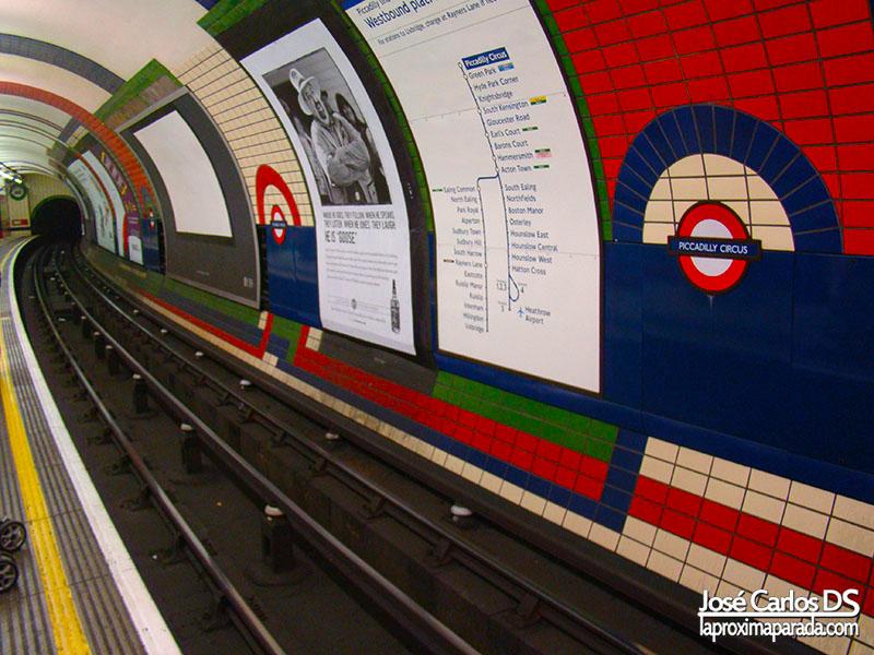 Estación de Metro Londres