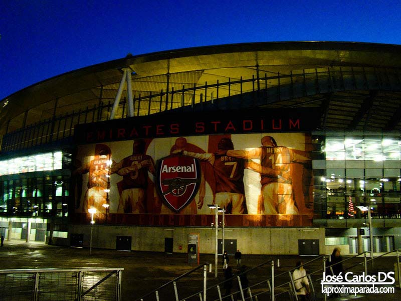 Estadio Arsenal Emirates Stadium Londres
