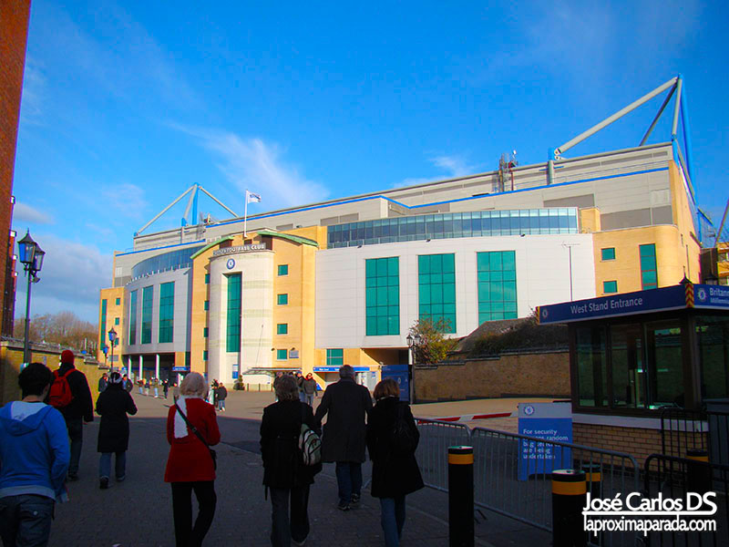 Estadio del Chelsea Stamford Bridge Londres