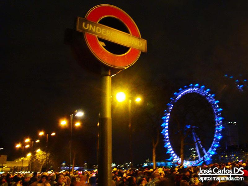 Fin de Año 2010 London Eye Londres