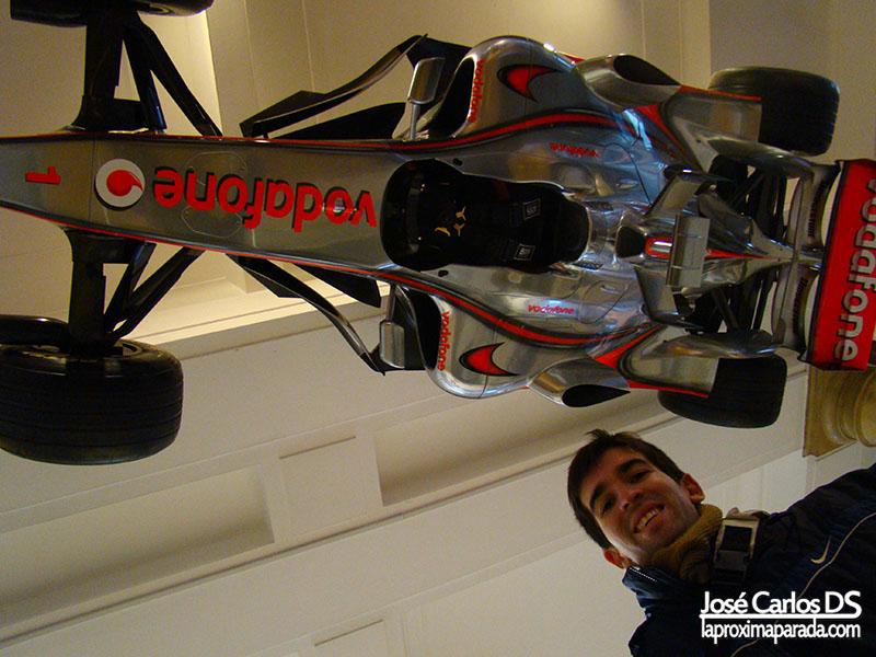 Formula 1 McLaren Mercedes Museo de la Ciencia Londres