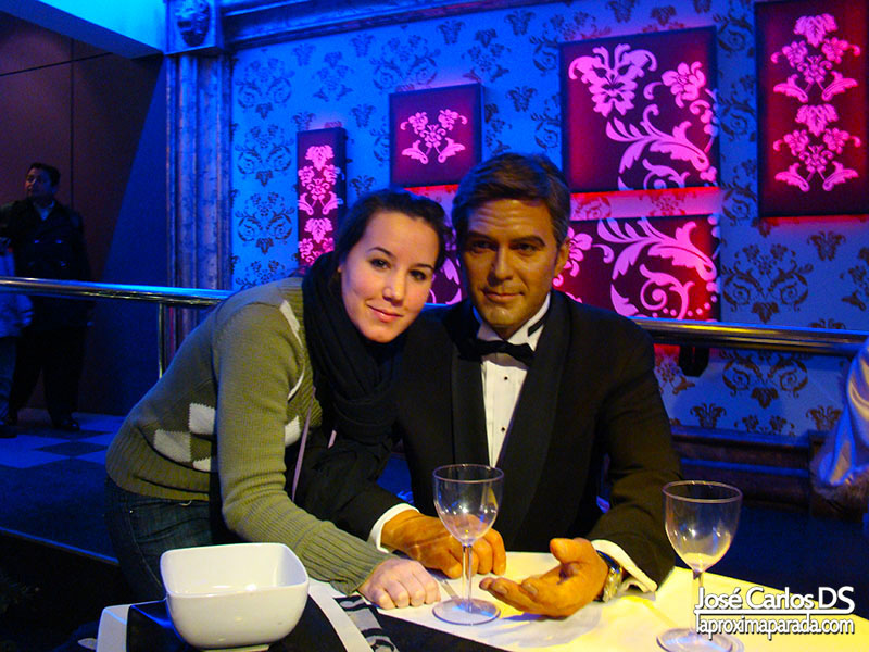 George Clooney Madame Tussauds Londres