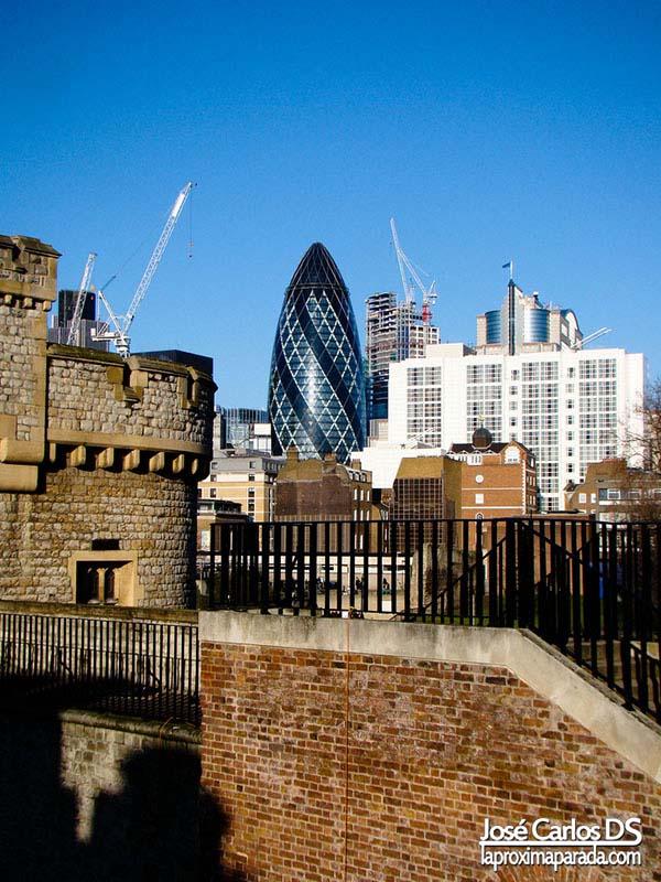 Gherkin desde Torre de Londres