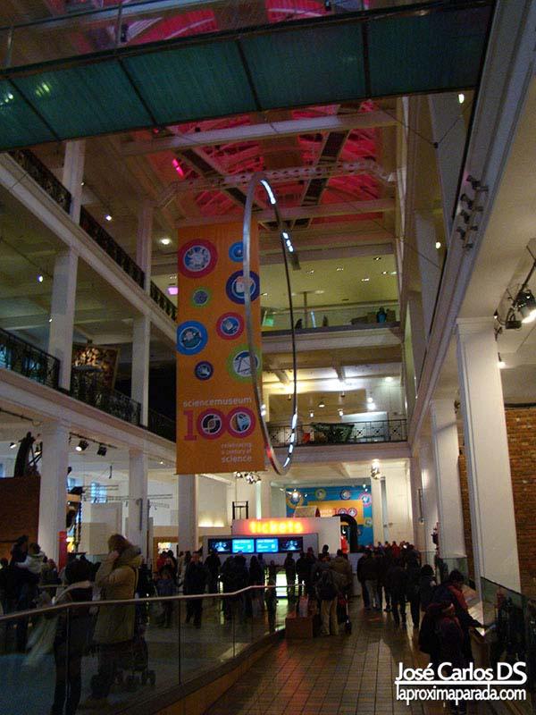 Hall Principal Museo de la Ciencia Londres