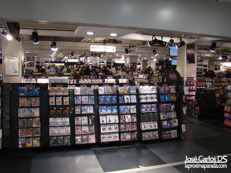 Interior Tienda HMV Londres