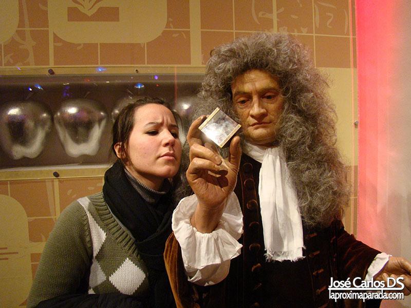 Isaac Newton Madame Tussauds Londres