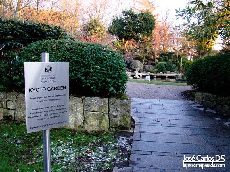 Kyoto Garden Holland Gardens Londres