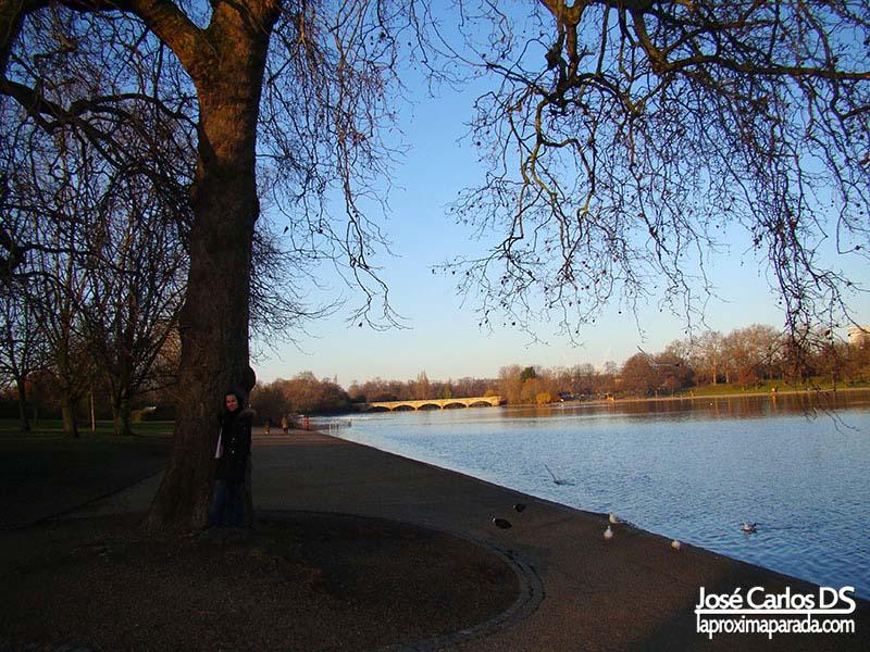 Lago Hyde Park Londres