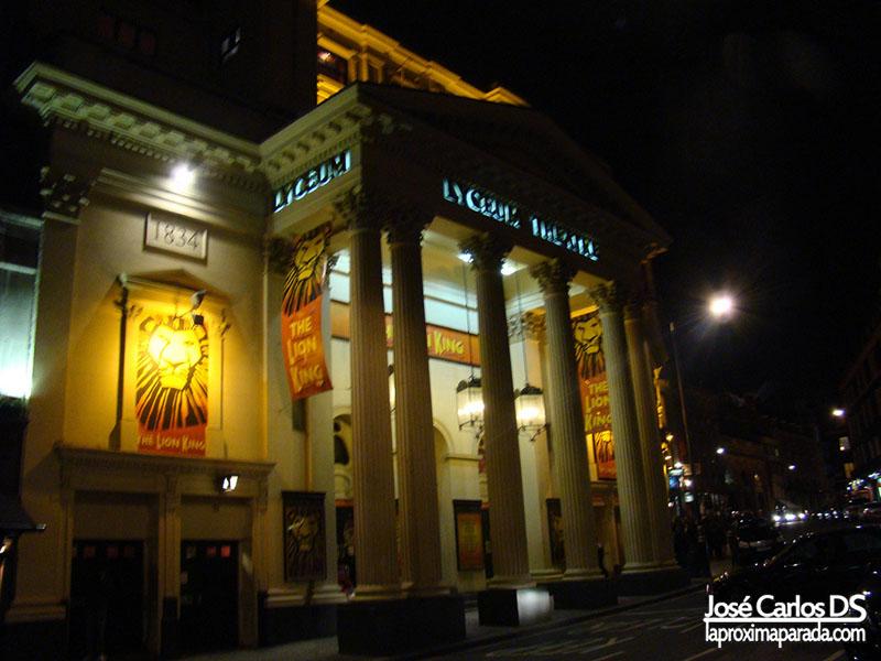 Lyceum Theatre Musical El Rey León
