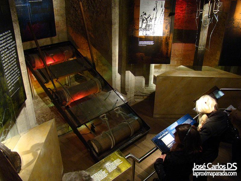 Máquina Tortura en Torre de Londres