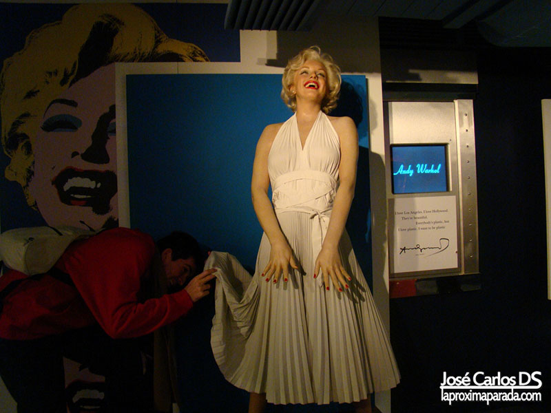 Marilyn Monroe Madame Tussauds Londres
