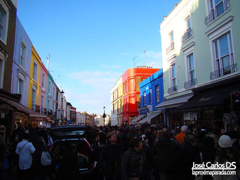 Mercado de Portobello Londres